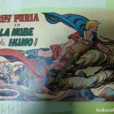Tebeos: TEBEOS-COMICS CANDY - REY FURIA - Nº 17 - VALENCIANA 1961 - ORIGINAL * UU99. Lote 167298412