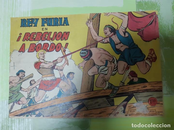 TEBEOS-COMICS CANDY - REY FURIA - Nº 25 - VALENCIANA 1961 - ORIGINAL * UU99 (Tebeos y Comics - Valenciana - Otros)