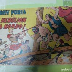 Tebeos: TEBEOS-COMICS CANDY - REY FURIA - Nº 25 - VALENCIANA 1961 - ORIGINAL * UU99. Lote 167302084