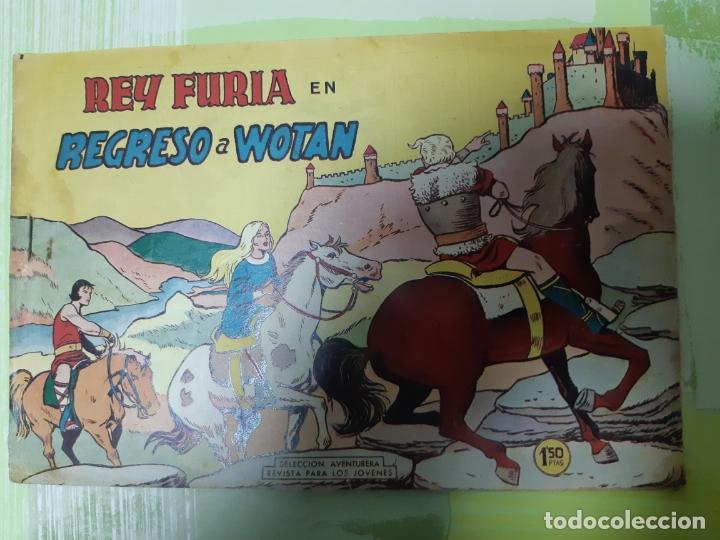TEBEOS-COMICS CANDY - REY FURIA - Nº 27 ULTIMO - VALENCIANA 1961 - ORIGINAL * UU99 (Tebeos y Comics - Valenciana - Otros)