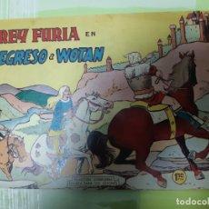 Tebeos: TEBEOS-COMICS CANDY - REY FURIA - Nº 27 ULTIMO - VALENCIANA 1961 - ORIGINAL *UU98. Lote 167304096