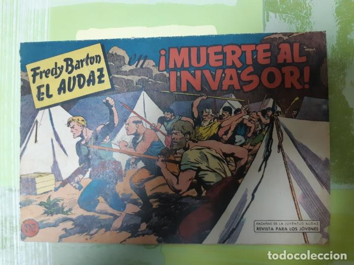 TEBEOS-COMICS CANDY - FREDY BARTON - Nº 7 - VALENCIANA 1960 - ORIGINAL *AA98 (Tebeos y Comics - Valenciana - Otros)