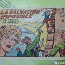 Tebeos: TEBEOS-COMICS CANDY - EL HIJO DE LA JUNGLA - Nº 9 - VALENCIANA 1956 - ORIGINAL *AA98. Lote 167341348