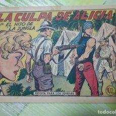 Tebeos: TEBEOS-COMICS CANDY - EL HIJO DE LA JUNGLA - Nº 13 - VALENCIANA 1956 - ORIGINAL *AA98. Lote 167345120