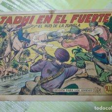 Tebeos: TEBEOS-COMICS CANDY - EL HIJO DE LA JUNGLA - Nº 15 - VALENCIANA 1956 - ORIGINAL *AA98. Lote 167349960