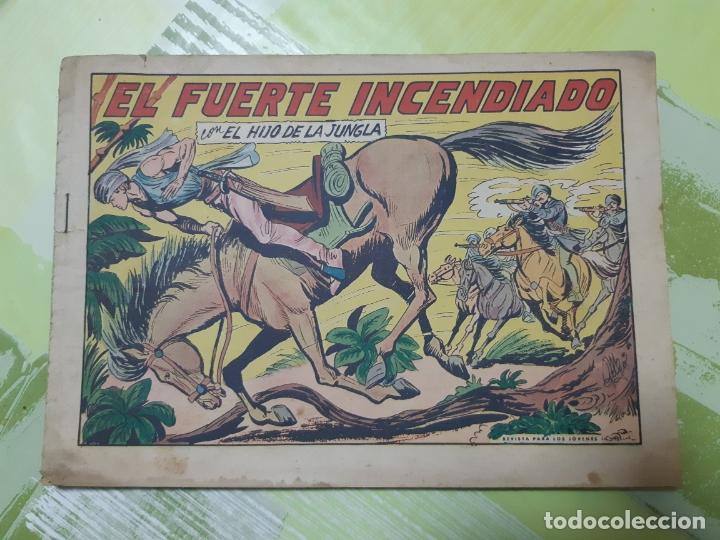 TEBEOS-COMICS CANDY - EL HIJO DE LA JUNGLA - Nº 26 - VALENCIANA 1956 - ORIGINAL *AA98 (Tebeos y Comics - Valenciana - Otros)