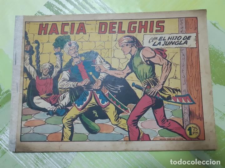 TEBEOS-COMICS CANDY - EL HIJO DE LA JUNGLA - Nº 31 - VALENCIANA 1956 - ORIGINAL * AA99 (Tebeos y Comics - Valenciana - Otros)
