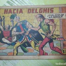 Tebeos: TEBEOS-COMICS CANDY - EL HIJO DE LA JUNGLA - Nº 31 - VALENCIANA 1956 - ORIGINAL * UU99. Lote 167376472