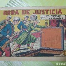 Tebeos: TEBEOS-COMICS CANDY - EL HIJO DE LA JUNGLA - Nº 32 - VALENCIANA 1956 - ORIGINAL * UU99. Lote 167377716