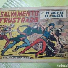 Tebeos: TEBEOS-COMICS CANDY - EL HIJO DE LA JUNGLA - Nº 46 - VALENCIANA 1956 - ORIGINAL * UU99. Lote 167398672