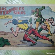 Tebeos: TEBEOS-COMICS CANDY - EL HIJO DE LA JUNGLA - Nº 48 - VALENCIANA 1956 - ORIGINAL * UU99. Lote 167402012