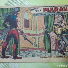 Tebeos: TEBEOS-COMICS CANDY - EL HIJO DE LA JUNGLA - Nº 52 - VALENCIANA 1956 - ORIGINAL *AA98. Lote 167402988