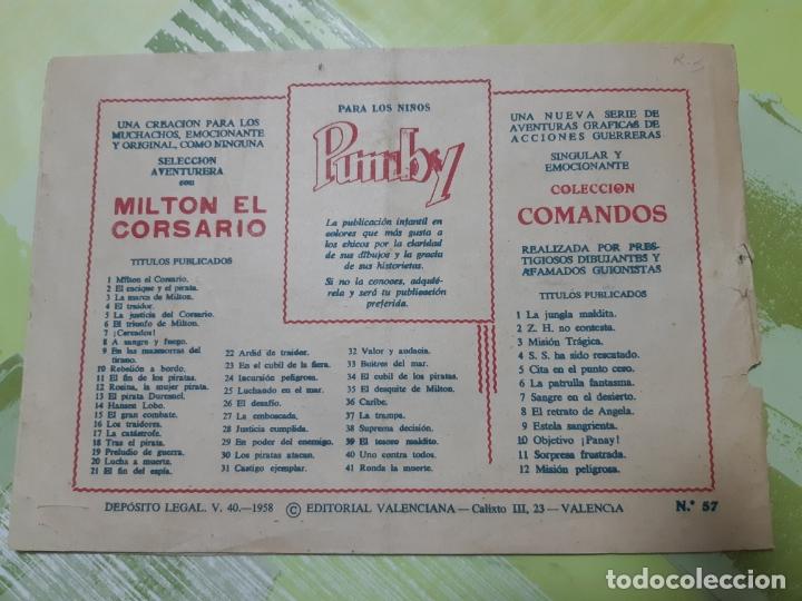 Tebeos: TEBEOS-COMICS CANDY - EL HIJO DE LA JUNGLA - Nº 57 - VALENCIANA 1956 - ORIGINAL *AA98 - Foto 2 - 167405364