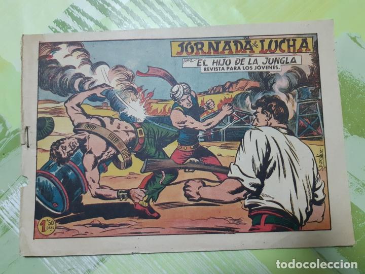 TEBEOS-COMICS CANDY - EL HIJO DE LA JUNGLA - Nº 57 - VALENCIANA 1956 - ORIGINAL *AA98 (Tebeos y Comics - Valenciana - Otros)