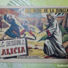 Tebeos: TEBEOS-COMICS CANDY - EL HIJO DE LA JUNGLA - Nº 64 - VALENCIANA 1956 - ORIGINAL *AA98. Lote 167410552