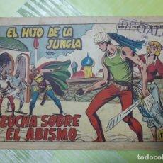 Tebeos: TEBEOS-COMICS CANDY - EL HIJO DE LA JUNGLA - Nº 81 - VALENCIANA 1956 - ORIGINAL *AA98. Lote 167412376