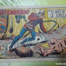 Tebeos: TEBEOS-COMICS CANDY - EL HIJO DE LA JUNGLA - Nº 82 - VALENCIANA 1956 - ORIGINAL *AA98. Lote 167413756