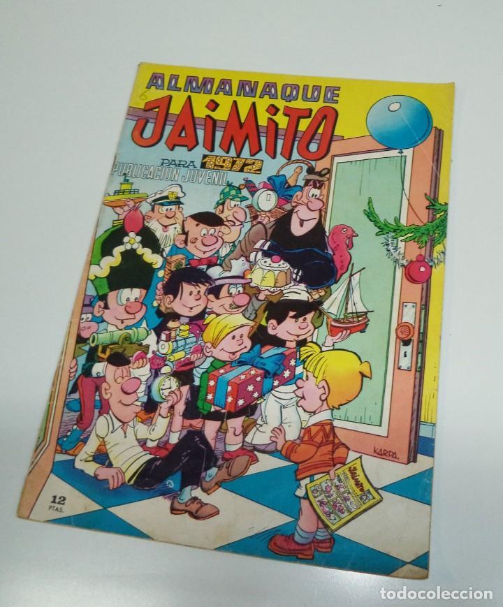 JAIMITO ALMANAQUE 1972 COMIC TEBEO (Tebeos y Comics - Valenciana - Jaimito)