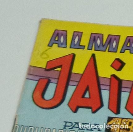 Tebeos: JAIMITO ALMANAQUE 1972 COMIC TEBEO - Foto 2 - 167778620