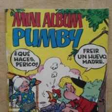 Tebeos: MINI ALBÚM PUMBY - Nº 12 - ED. VALENCIANA. Lote 167779332