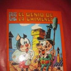 Tebeos: GALAS PUMBY. EL GENIO DE LA CHIMENEA. EDITORA VALENCIANA 1973.. Lote 168280480