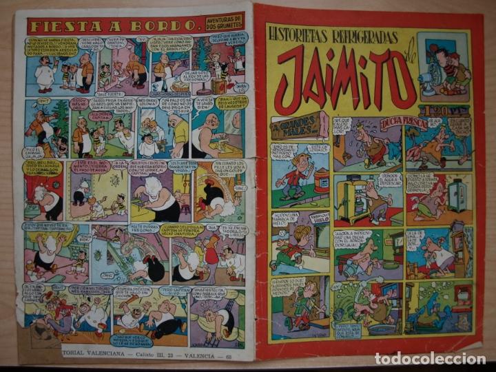 JAIMITO - HISTORIETAS REFRIGERADAS - VALENCIANA (Tebeos y Comics - Valenciana - Jaimito)
