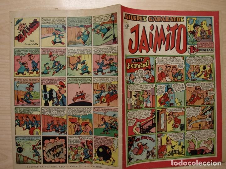 JAIMITO - ALEGRES GARABATOS - VALENCIANA (Tebeos y Comics - Valenciana - Jaimito)