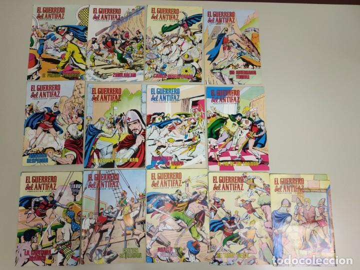 1118- EL GUERRERO DEL ANTIFAZ NºOS ( 330/342) PVP POR UNIDAD 2,50€ AÑO 1978 (Tebeos y Comics - Valenciana - Guerrero del Antifaz)