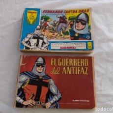 Tebeos: COLECCIÓN EL GERRERO DEL ANTIFAZ. Lote 168555108