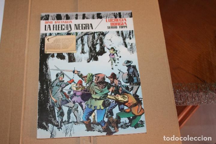 LA FLECHA NEGRA , RÚSTICA , EDITORA VALENCIANA (Tebeos y Comics - Valenciana - Otros)