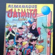 Tebeos: ALMANAQUE DE JAIMITO 1972. Lote 168755824