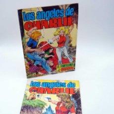 Tebeos: LOS ÁNGELES DE CHARLIE 1 Y 2. STOP A LA DROGA / EL FANTASMA DE EGON (J. RUMEU) 1979. ORIGINAL. Lote 168879018