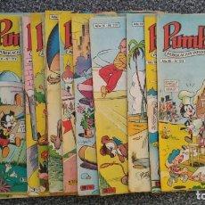 Tebeos: LOTE 19 COMICS - PUMBY - ED. VALENCIANA. TODOS AÑO IX.. Lote 168951208