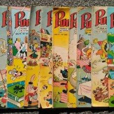 Tebeos: LOTE 13 COMICS - PUMBY - ED. VALENCIANA. TODOS AÑO X.. Lote 168952444