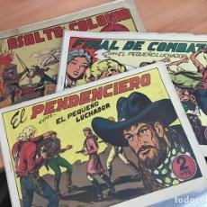 Tebeos: EL PEQUEÑO LUCHADOR LOTE 17 GRANDES 31 X 22 CM (ORIGINAL VALENCIANA) (COIB4). Lote 169044444