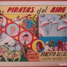 Tebeos: ROBERTO ALCAZAR Y PEDRIN. LOS PIRATAS DEL AIRE. Nº 1. REEDICION 1980. VALENCIANA.. Lote 169071160