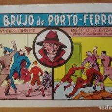 Tebeos: ROBERTO ALCAZAR Y PEDRIN. EL BRUJO DE PORTO-FERRO. Nº 36 REEDICION 1980. VALENCIANA.. Lote 169072780