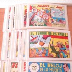 Tebeos: LOTE DE 50 TEBEOS DE ROBERTO ALCAZAR Y PEDRIN. REEDICIÓN 1980. EDITORIAL VALENCIANA.. Lote 169074116