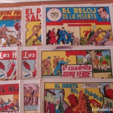 Tebeos: LOTE DE 9 TEBEOS DE ROBERTO ALCAZAR Y PEDRIN. REEDICIÓN 1980. EDITORIAL VALENCIANA.. Lote 169074180