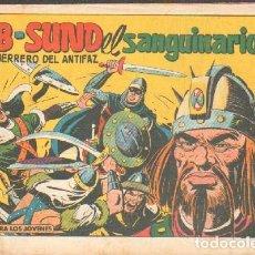 Tebeos: AB-SUND-EL SANGUINARIO. EL GUERRERO DEL ANTIFAZ. Nº 478. A-COMIC-5242. Lote 169171044