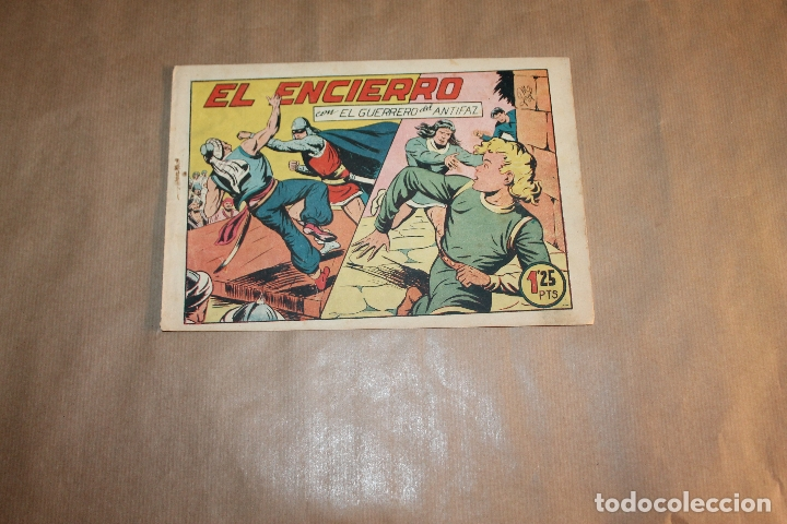 EL GUERRERO DEL ANTIFAZ Nº 140, EDITORIAL VALENCIANA (Tebeos y Comics - Valenciana - Guerrero del Antifaz)