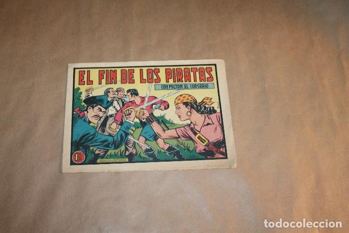 MILTON EL CORSARIO Nº 11, EDITORIAL VALENCIANA (Tebeos y Comics - Valenciana - Otros)