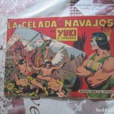 Tebeos: YUKI EL TEMERARIO Nº 10. Lote 169589084