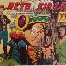 Tebeos: YUKI EL TEMERARIO Nº 14 - EL RETO DE KID LANE - AÑO 1958. Lote 169678564