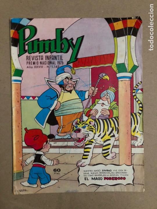 PUMBY N° 1145 (VALENCIANA 1982). (Tebeos y Comics - Valenciana - Pumby)