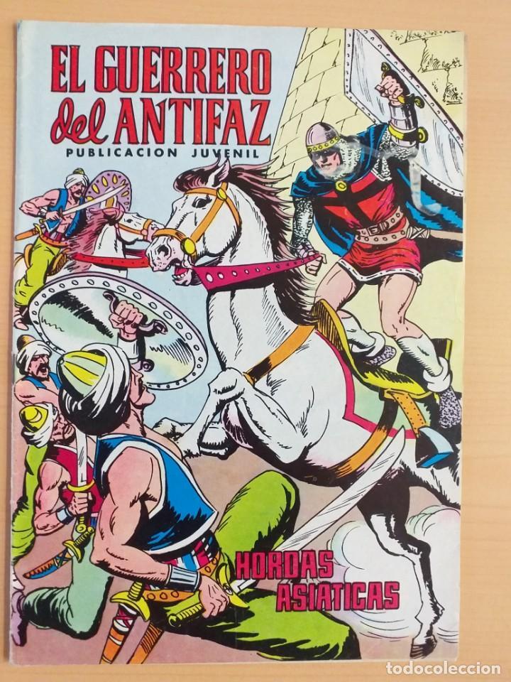 EL GUERRERO DEL ANTIFAZ - HORDAS ASIATICAS. VALENCIANA. NUM 329. 1978 (Tebeos y Comics - Valenciana - Guerrero del Antifaz)
