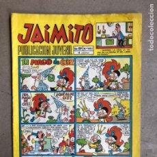 Tebeos: JAIMITO PUBLICACIÓN JUVENIL N° 1015 (VALENCIANA 1969).. Lote 170322045