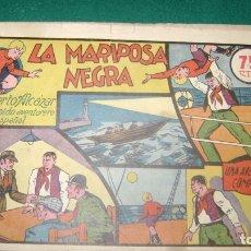 Tebeos: ROBERTO ALCAZAR LA MARIPOSA NEGRA 11 ORIGINAL CJ 22. Lote 170322508