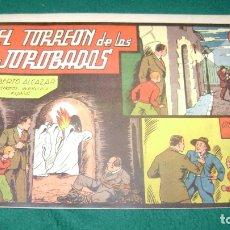 Tebeos: ROBERTO ALCAZAR 28 EL TORREON DE LOS JOROBADOS PRIMERA EDICION ORIGINAL CJ 22. Lote 170322784
