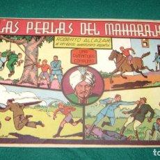 Tebeos: ROBERTO ALCAZAR 36 LAS PERLAS DEL MAHARAJA ORIGINAL CJ 22. Lote 170322936